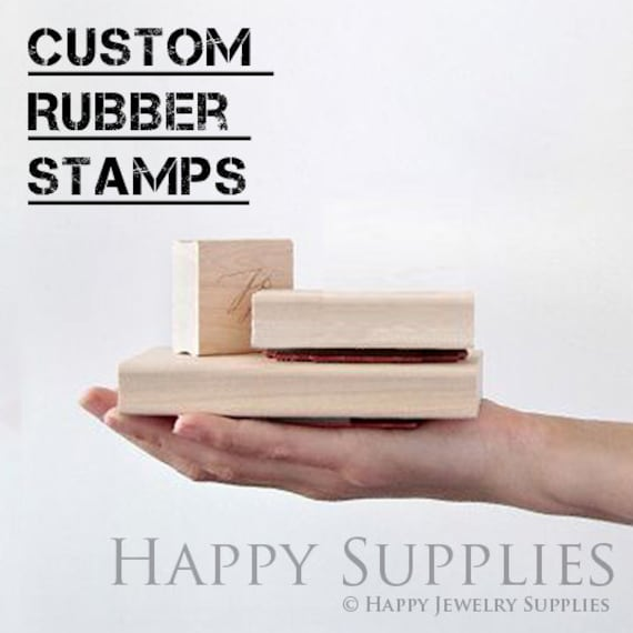 Design Your Own Rubber Stamp: Design You Own Rubber Stamp / Custom Personalized Stamp