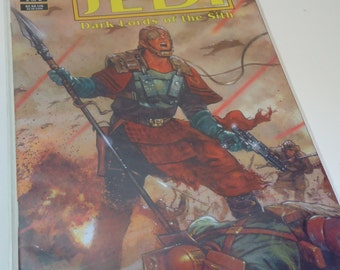 Star Wars Tales of the Jedi Dark Lords of the Sith 2 of 6 Comic Book by Dark Horse Comics 1994