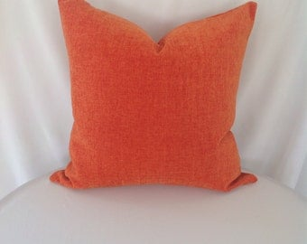 Pindler & Pindler Piedmont Payson in color Persimmon Pillow Cover