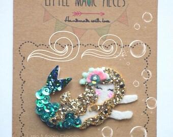 Mermaid Hair Clip Summer Under The Sea