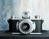 Vintage Kodak 35 Camera, Rare 35mm Kodamatic Anastigmat Lens, Camera Collector Industrial Home Decor