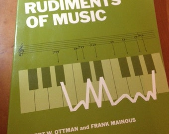 Rudiments of Music book