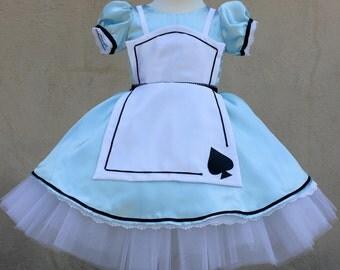 Alice Blue Dress (Size 1-5)