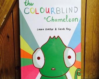 The Colourblind Chameleon children's book
