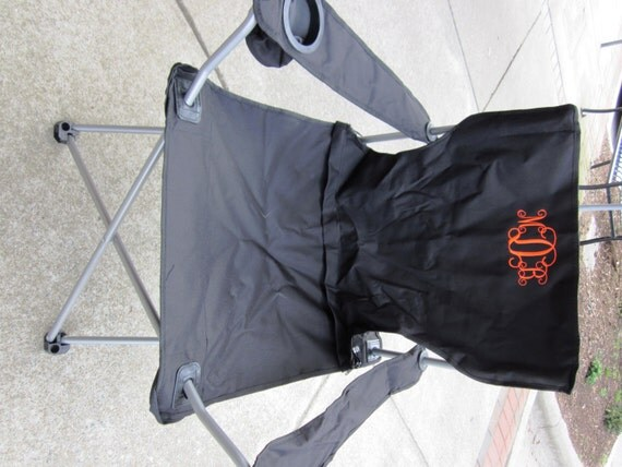 Monogrammed Folding Bag Chair