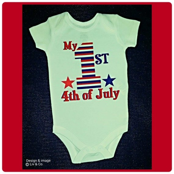 Wrap your little one in custom Fourth Of July baby clothes. Cozy comfort at Zazzle! Personalized baby clothes for your bundle of joy. Choose from huge ranges of designs today!