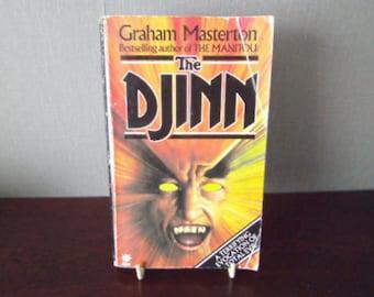 The Djinn By Graham Masterton paperback 1983 edition