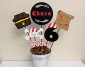 Pirate Birthday Party Centerpiece or Baby shower - Jake and the Neverland Pirates