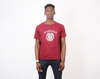 80s Harvard University T Shirt - Ivy League T Shirt - Vintage Varsity  -1932