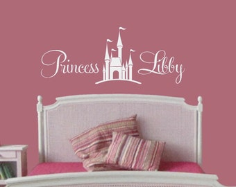 Baby Girl Wall Decal Etsy - Nursery wall decals girl