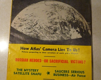 Flying Saucers The  Magazine of Space Conquest June 1960 Ray Palmer