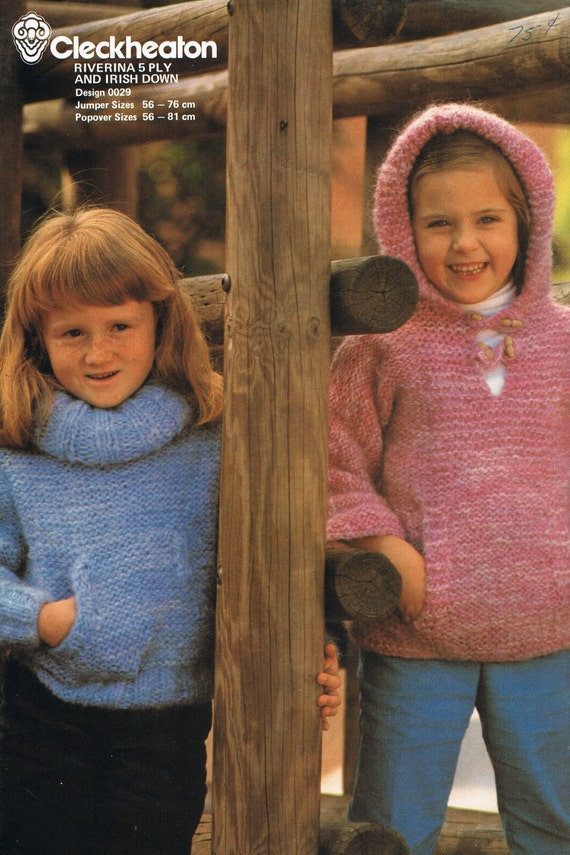 Kangaroo Hoodie Knitting Pattern : Knitting Pattern Childrens Kangaroo Pocket by ...