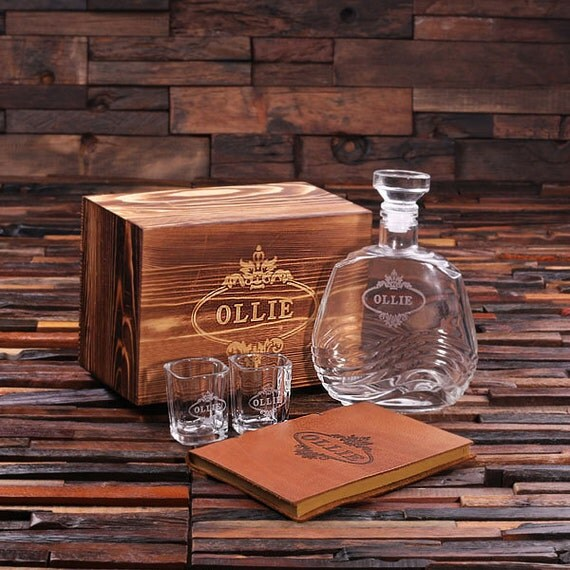 Pc men s gift set personalized holiday christmas with