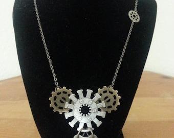 Steampunk Necklace-004