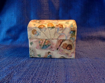 Vintage Trinket Box Jewelry Box