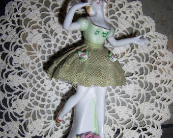 Vintage Porcelain/Bone China Ballerina