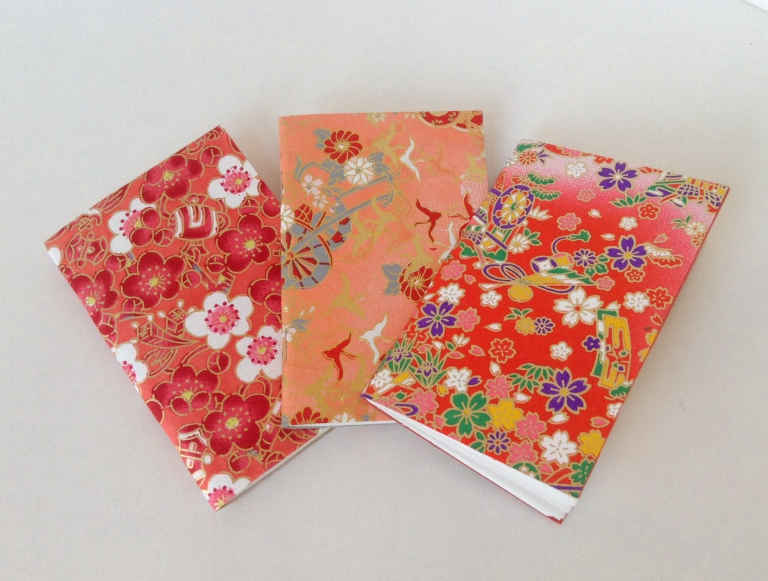 small notebooks origami paper notebook valentines by