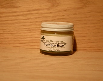 Itchy Bum Balm - A gentle balm perfect to use on children, saddle sores, and other ouches