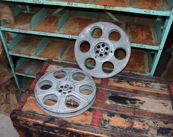 Vintage Movie Film Reel 15 No Film Movie Theater Decor Wall