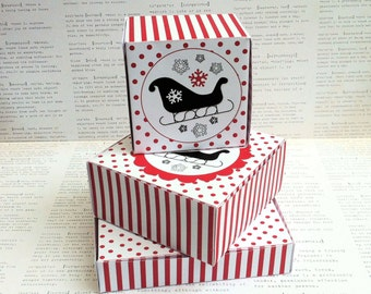 CAT candy, treat, party favor box, gift box, paper printable box PDF ...
