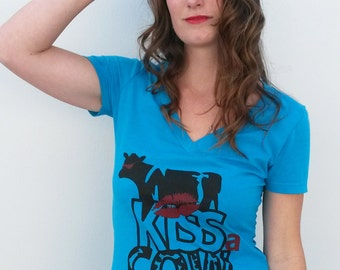 Cow Tee - by Kiss a Cow