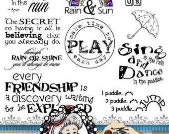 play time children Word Art Sentiments Instant Download Digital Digi Stamps ID:NV-WA0018 By Nana Vic Photography Overlay