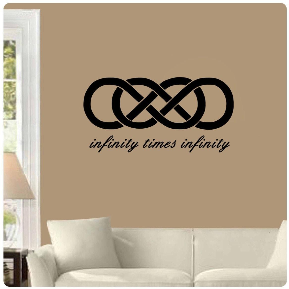 infini fois infini infini double symbole romantique mariage. Black Bedroom Furniture Sets. Home Design Ideas