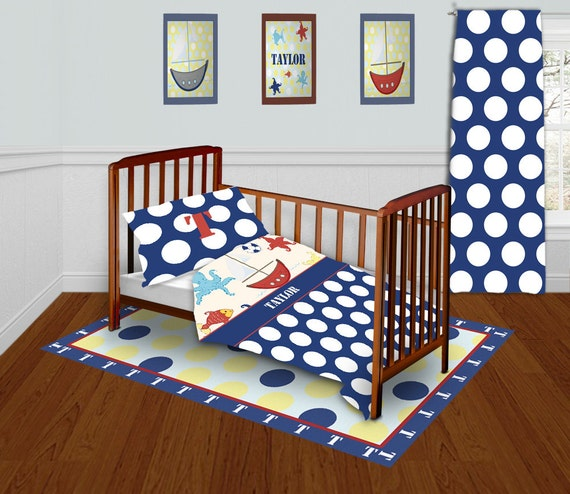 Nautical Themed Bedding For Babies: Items Similar To Nautical Themed Bedding, Baby Bedding For