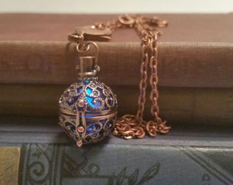 Magical Glowing Orb Necklace
