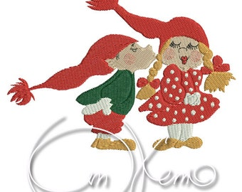 MACHINE EMBROIDERY FILE - Gnomes