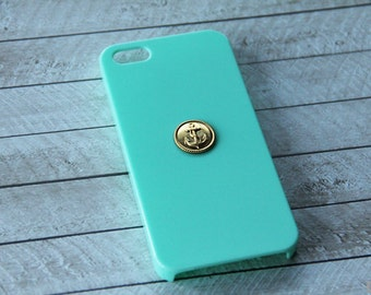 iPhone 5c Nautical Case iPhone Case Anchor iPhone 5s Case Gold Ocean Sailing iPhone 6s iPhone 7 Plus Case iPhone 6s iPhone 7 Case iPhone 5c