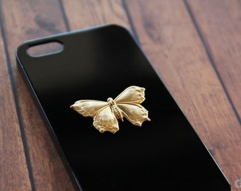 Black iPhone 5c Case Butterfly iPhone Skin iPhone 4s Case Butterfly Animal iPhone 6 Skin Case Galaxy S3 Black iPhone 6 Plus Cover Galaxy S4