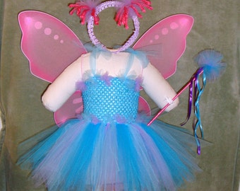 Blue Fairy, Abby Cadabby Inspired Tutu Costume