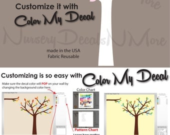 Mini Tree Decal, Extra Branch, Decal for Babys (BabyPink), RTOM
