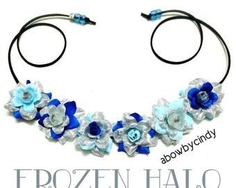 Frozen / Elsa / Disney / Flower Halo / Crown / Headband