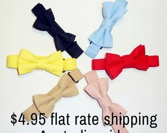 Baby bowtie / boys bowtie / children's bowtie/ kids' bowtie  - Flat rate shipping Australia wide