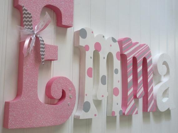 Hanging Nursery Letters Nursery Letters Baby Girl Nursery