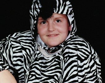 Zebra Costume Child Youth Adult   Custom-made