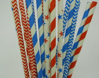 All American Paper Straws - 20/Pack