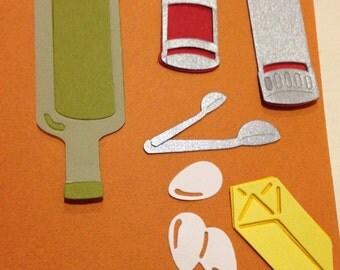 Quickutz Baking Ingredients Die Cuts
