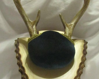 Taxidermy Plaque for Antler Mounting - Engraved Arrowhead