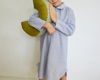 "Boys nightgown, strip ""grandpa"""