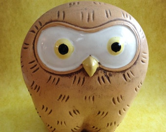 Owl bank made in Japan from the 1970's