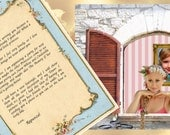 Digital Customized letters and pictures from  Rapunzel in your e-mail -you can choose the text- perfect present for girls