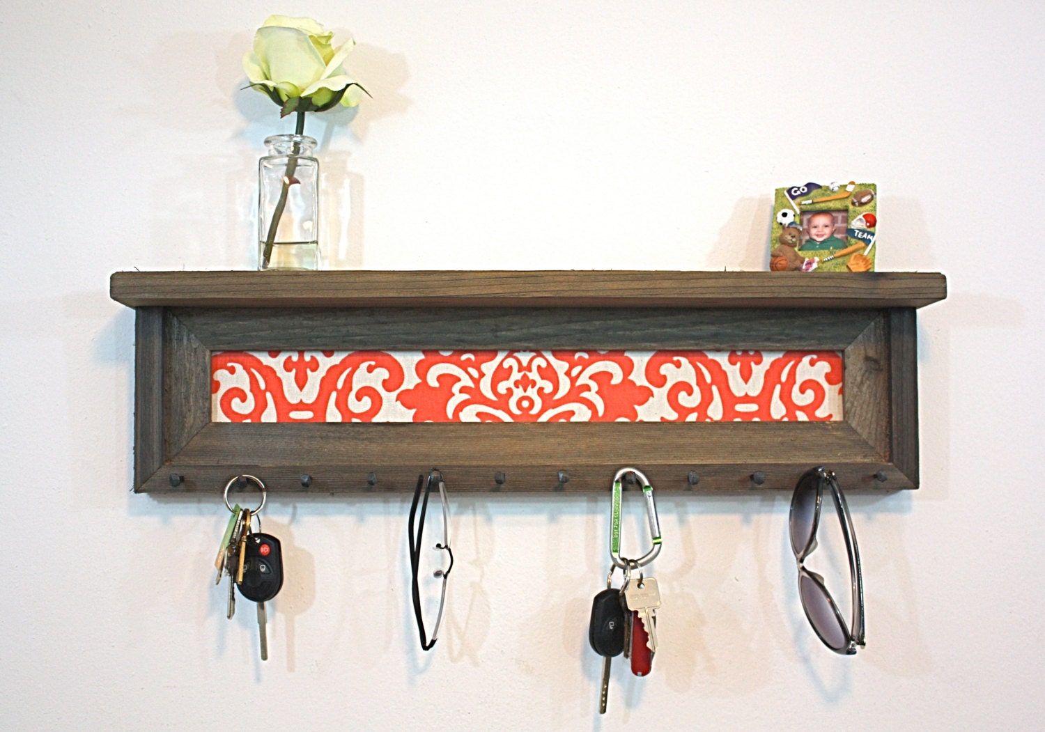 Key Holder Shelf Home Decor Housewarming Gift by hudsonlace