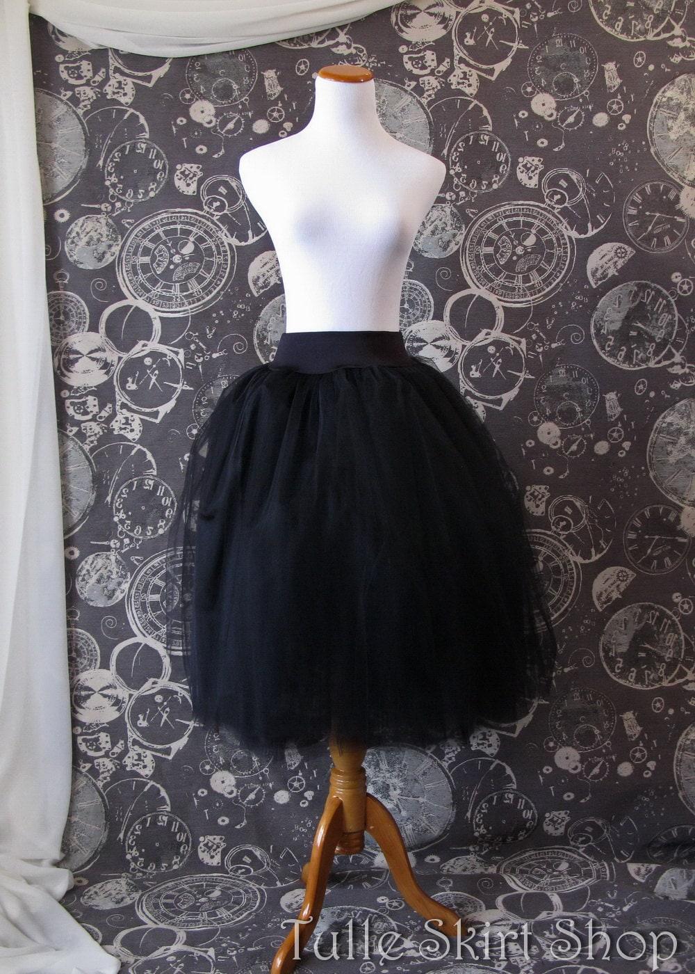 Black tutu dress plus size