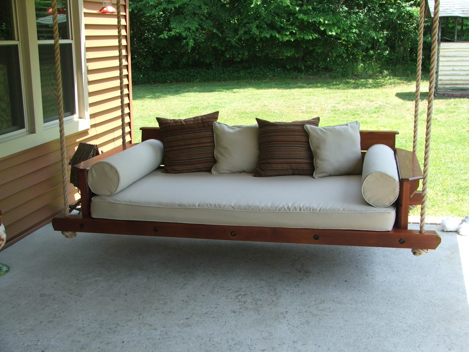porch swing bed. Black Bedroom Furniture Sets. Home Design Ideas