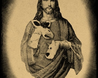 Jesus Christ With Puppets T-Shirt