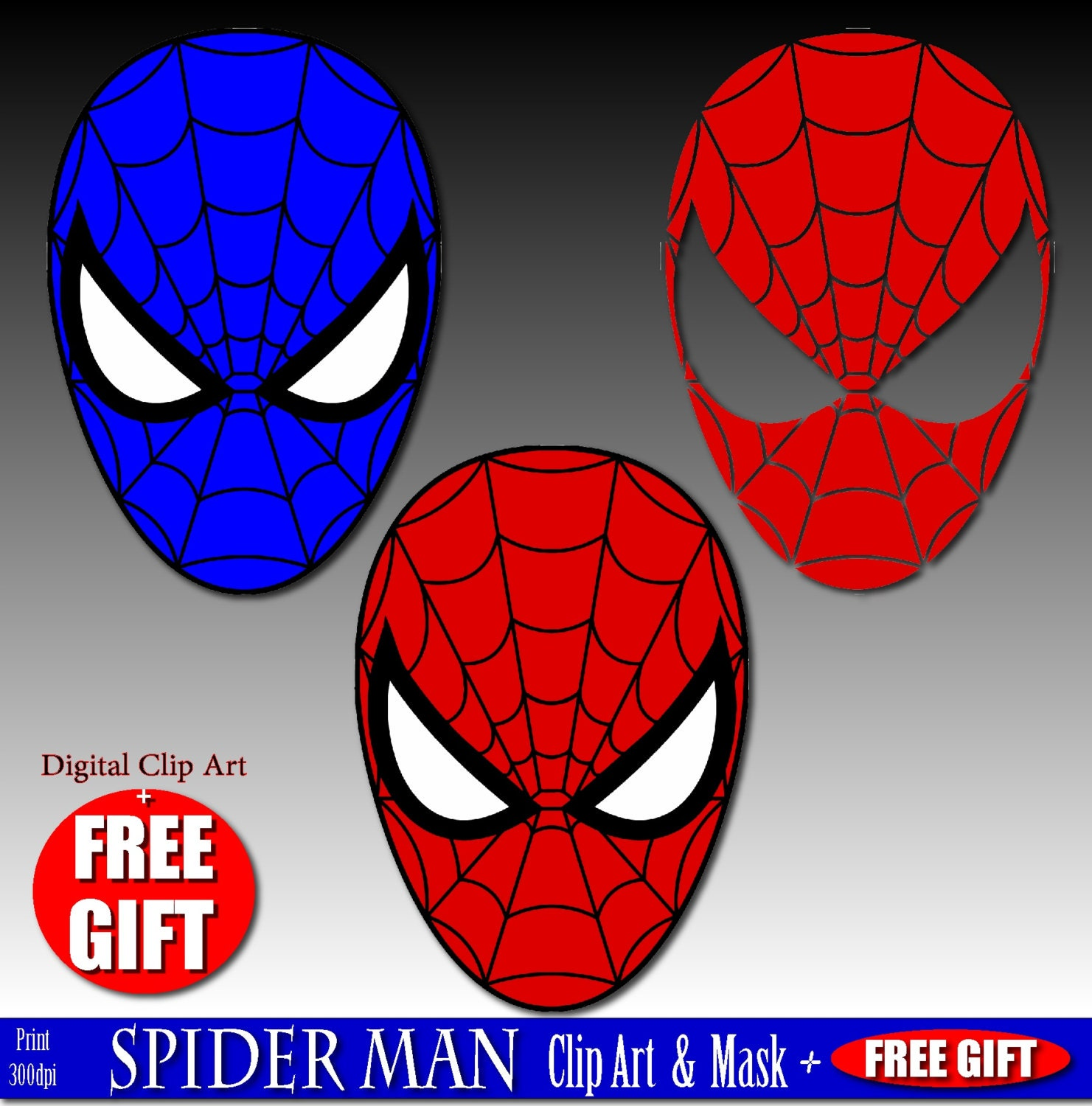 This is a graphic of Nifty Spiderman Mask Printable