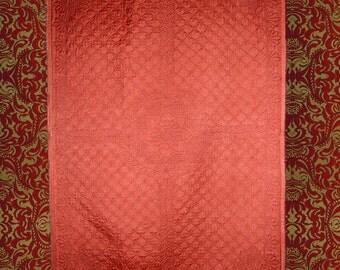 Autumn - Original hand quilted Lap Quilt